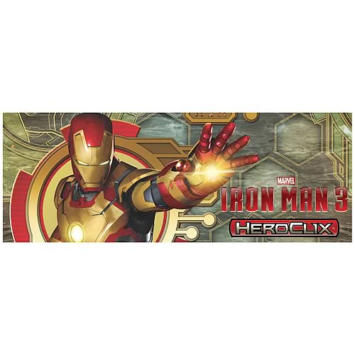 Iron Man 3 Movie HeroClix Gravity Feed Mini-Figure 4-Pack