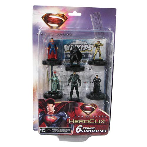 Superman Man of Steel Movie DC HeroClix Starter Set
