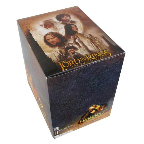 Lord of the Rings the Two Towers HeroClix Display Box