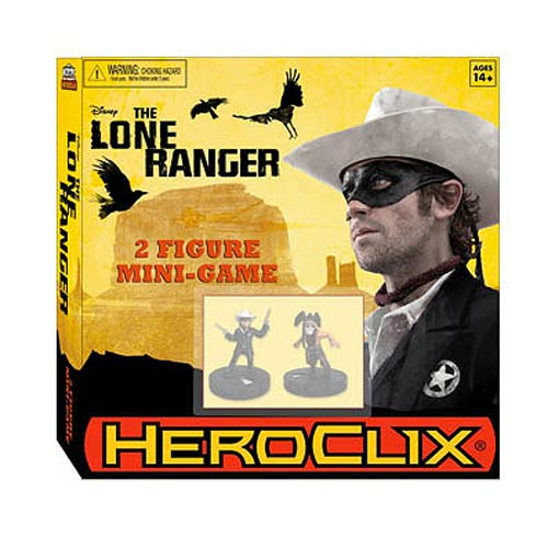 Lone Ranger Movie HeroClix Mini-Game