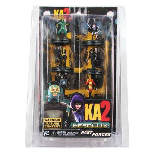 Kick-Ass 2 HeroClix Fast Forces Mini-Figure 6-Pack