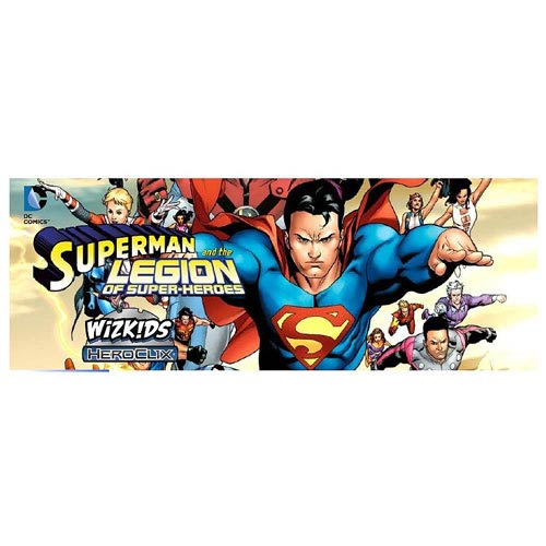 Superman and the Legion of Super Heroes HeroClix Display Box