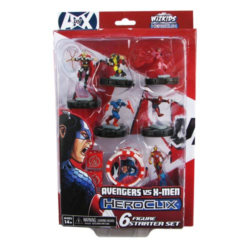 Avengers vs. X-Men Marvel HeroClix Avengers Starter Pack