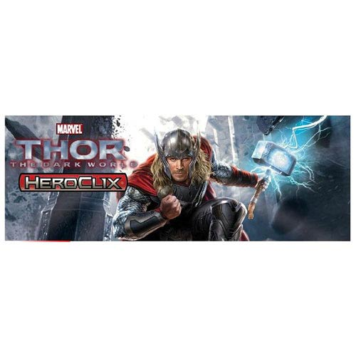 Thor The Dark World Marvel HeroClix Mini-Figure 4-Pack