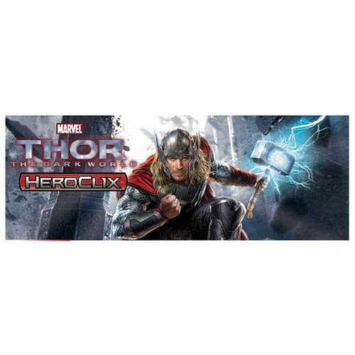 Thor The Dark World Movie Marvel HeroClix Mini-Game