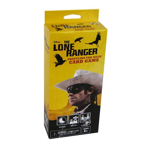 Lone Ranger Movie Shuffling the Deck Card Game