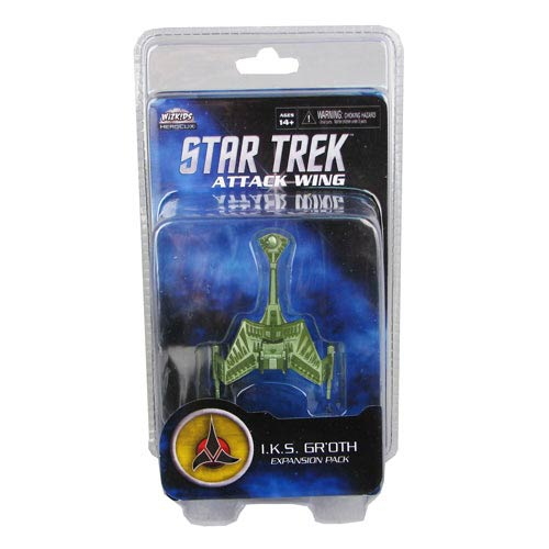 Star Trek Attack Wing Klingon Gr'oth Expansion Pack
