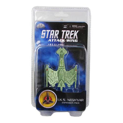 Star Trek Attack Wing Klingon Negh'var Expansion Pack
