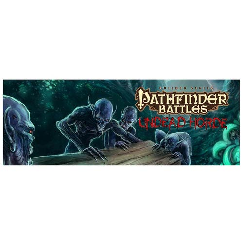 Pathfinder Battles Undead Horde HeroClix Gravity Feed 4-Pack