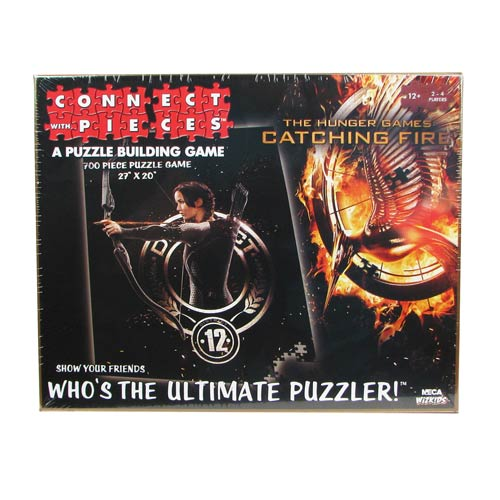 Hunger Games Catching Fire Connect with Pieces Puzzle Game