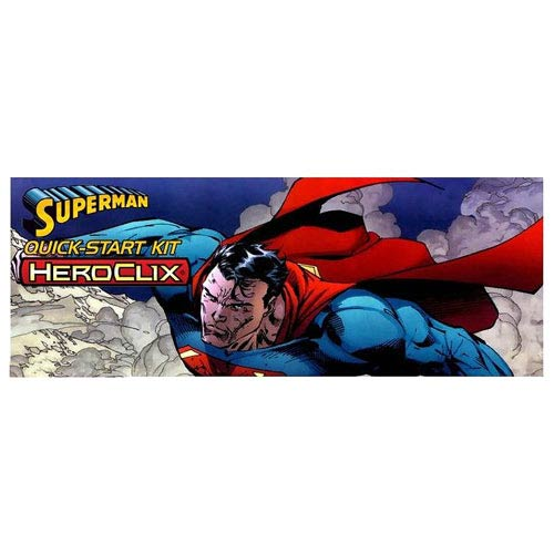 Superman DC HeroClix Quick-Start Kit
