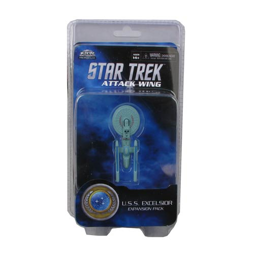 Star Trek Attack Wing Federation Excelsior Expansion Pack