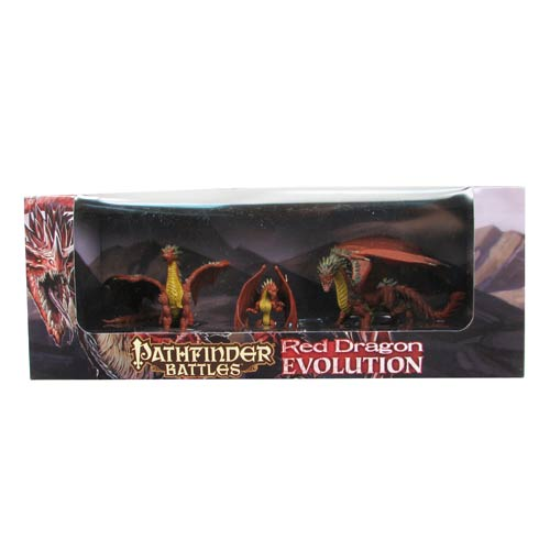 Pathfinder Battles Red Dragon Evolution HeroClix Boxed Set
