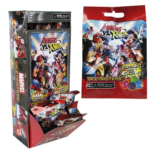 Avengers vs. X-Men Dice Masters Gravity Feed Display Box