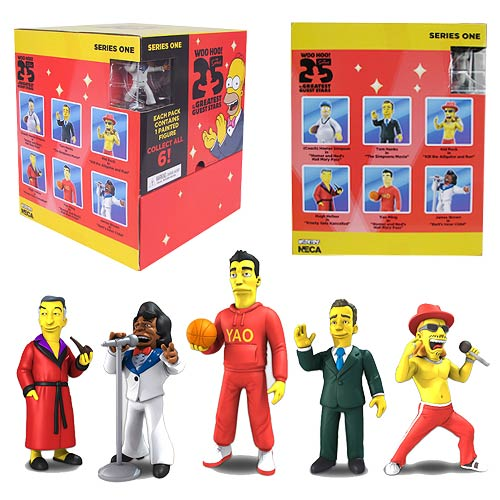 Simpsons 25th Anniversary 2-Inch Mini-Figure Case