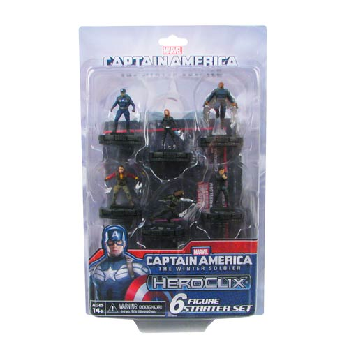 Captain America The Winter Soldier HeroClix Starter Pack