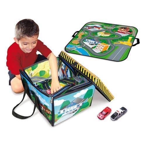 Full Throttle ZipBin Small Town Playmat Carry Case