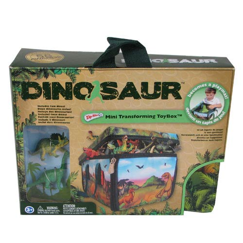 Dinosaur ZipBin Miniature Carry Case