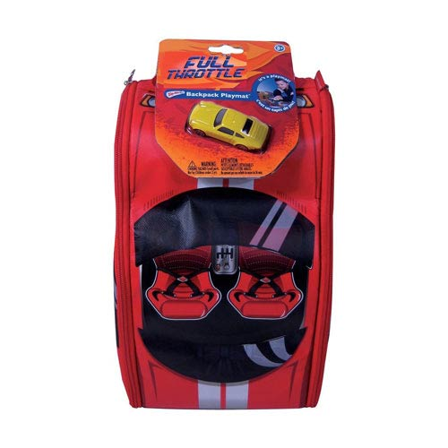Full Throttle ZipBin Street Racer Bring Along Backpack