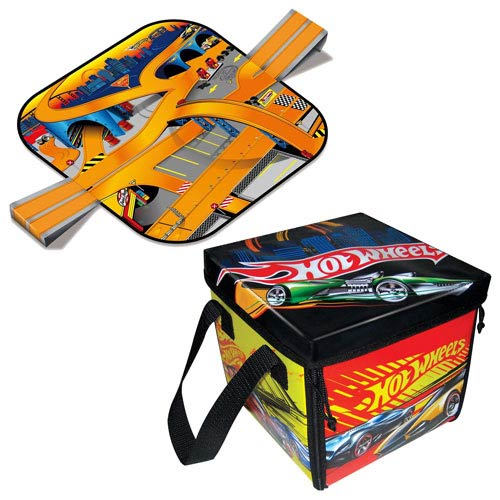 Hot Wheels ZipBin Ramp it Up Carry Case