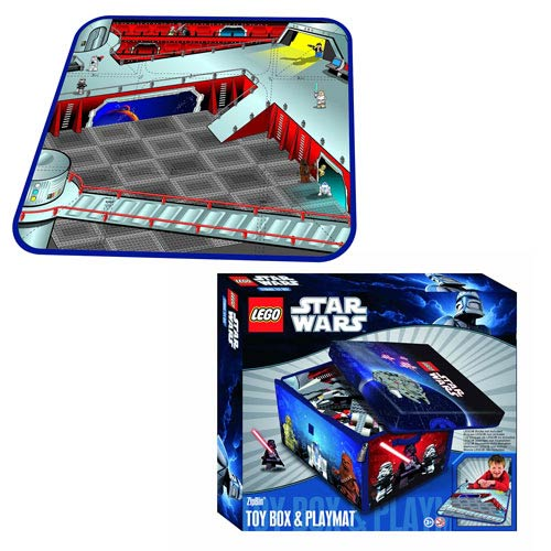 LEGO Star Wars ZipBin Toy Box Carry Case