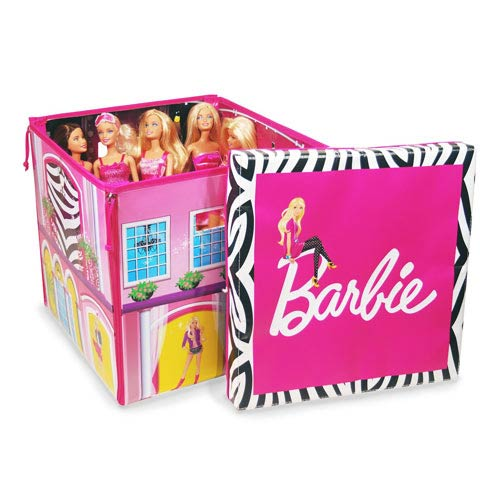 Barbie ZipBin Dream House Toy Box and Playmat Carry Case