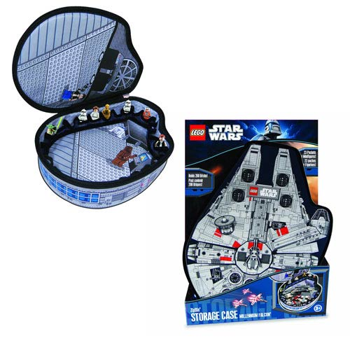 LEGO Star Wars ZipBin Small Millennium Falcon Carry Case