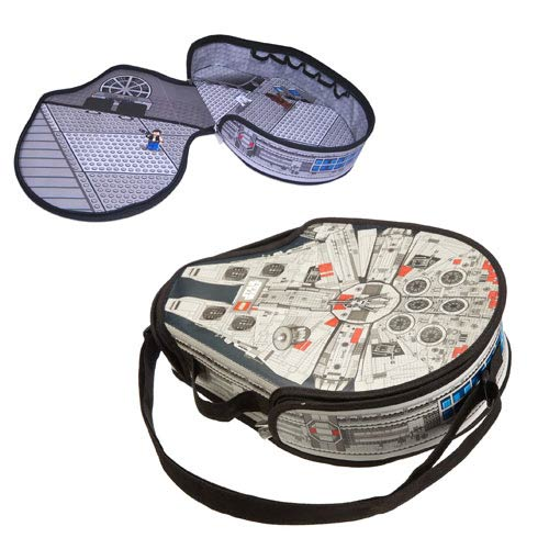 LEGO Star Wars ZipBin Large Millennium Falcon Messenger Bag