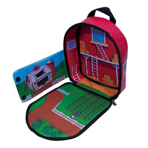 Farmland ZipBin Bring Along Backpack