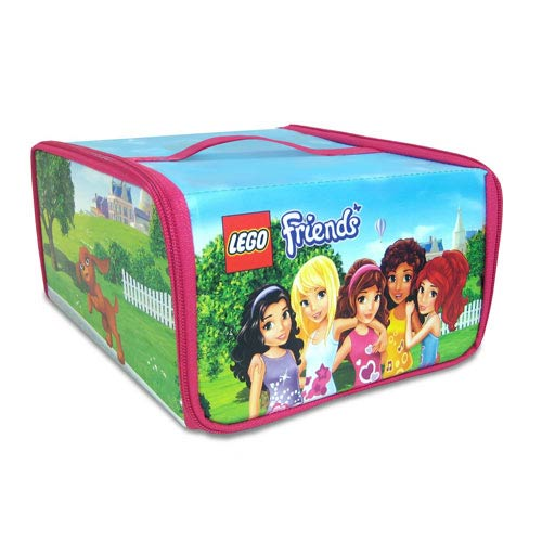 LEGO Friends ZipBin Heartlake Place Toy Box Carry Case