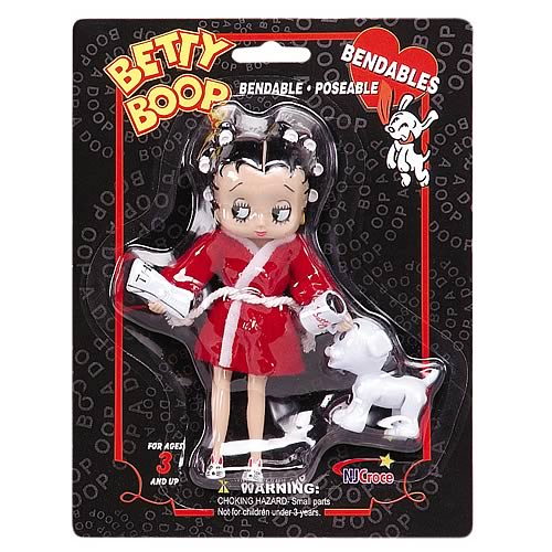 Betty Boop Mornings with Pudgy Bendable Figure