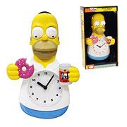 Simpsons Homer Simpson Animated Clock