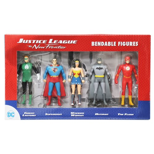 Justice League The New Frontier Mini Bendable Figure Box Set