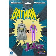 Batman and The Joker 3-Inch Bendable Action Figures