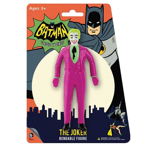 Batman TV Series The Joker 5 1/2-Inch Bendable Figure