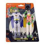 Batman Classic TV Series Bendable Figure 2-Pack