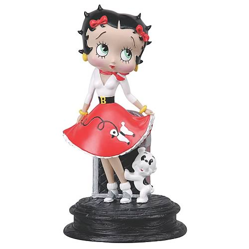 Betty Boop Sock Hop Statue - NJ Croce - Betty Boop - Statues at ...