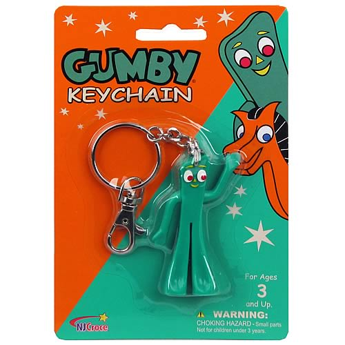Gumby and Friends Gumby Gumbitty Key Chain