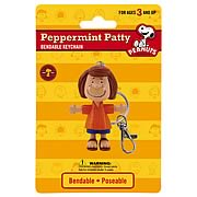 Peanuts Peppermint Patty Bendable Key Chain
