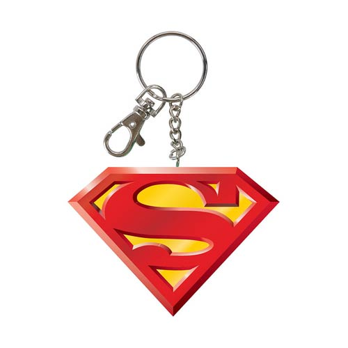Superman Logo Bendable Key Chain