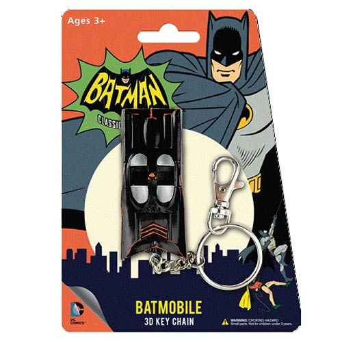 Batman Classic TV Series Batmobile Figural  Key Chain