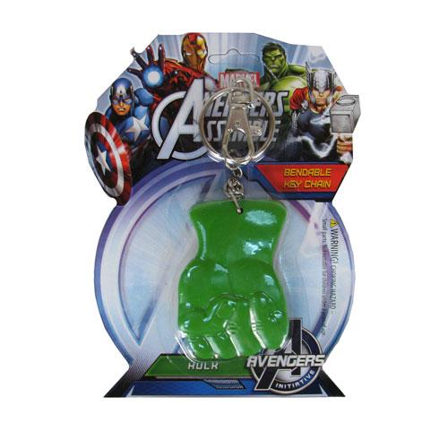 Hulk's Fist 3-Inch Bendable Key Chain