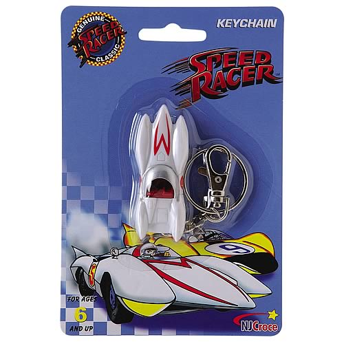 Speed Racer Mach-5 PVC Key Chain