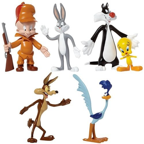 Looney Tunes Bendable Action Figure Boxed Set