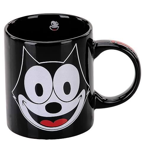 Felix the Cat Felix Face Ceramic Mug