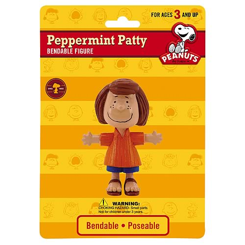 Peanuts Peppermint Patty Bendable Figure