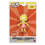 Simpsons Lisa Simpson Bendable Figure