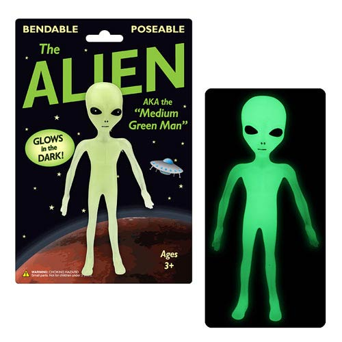The Alien 6-Inch Glow-in-the-Dark Bendable Figure