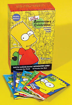 Simpsons Anniversary Cards Box