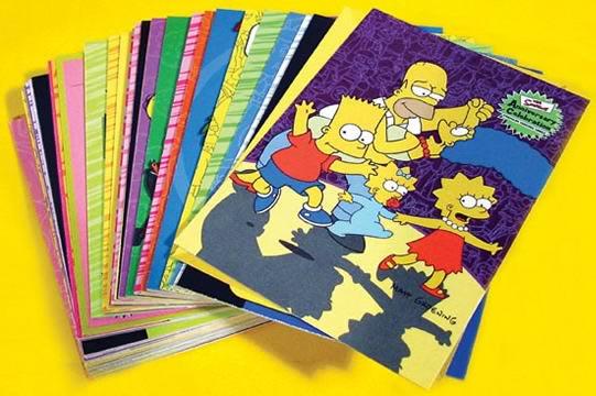 Simpsons Anniversary Basic Set